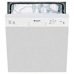 Hotpoint LFS114W Full-Size Semi-Integrated Dishwasher White