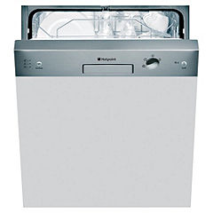 Hotpoint LFS114X Full-Size Semi-Integrated Dishwasher Stainless Steel