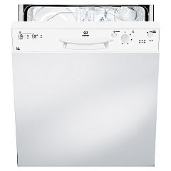 Indesit DPG15WH Full-Size Semi-Integrated Dishwasher White