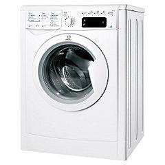 Indesit IWDE7145B Washer Dryer White