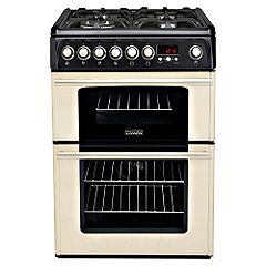 Cannon Professional C60DPCF Dual Fuel Cooker White