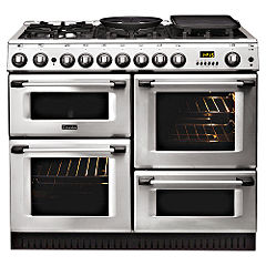 Cannon 1000 10450GF Dual-Fuel Cooker Stainless Steel