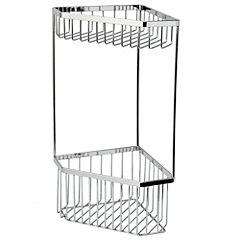 Tu Chrome 2 Tier Wall Mounted Caddy