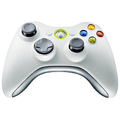 Xbox 360 Wireless Controller White Statutory