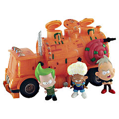 Stink Blasters Stink Containment Truck