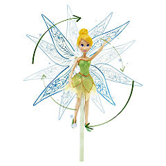 Disney Fairies Tinker Bell Magic Spiral Wings