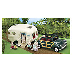 Flair Sylvanian Families The Caravan and Family Car