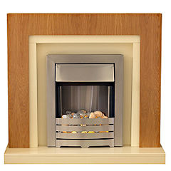 Chloe Electric Fireplace Suite