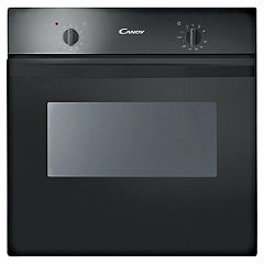 Candy FST201N Electric Single Oven Black
