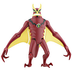 10cm Jetray Alien Action Figurine Statutory