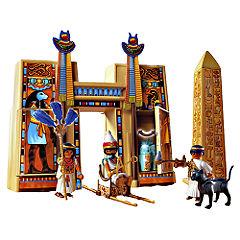 playmobil Pharaohs Temple Statutory