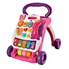 vtech First Steps Baby Walker - Pink Statutory
