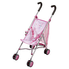 Baby Born On The Go Girl Stroller