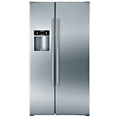 Bosch KAD 62V40 American Style Fridge Freezer Steel Look