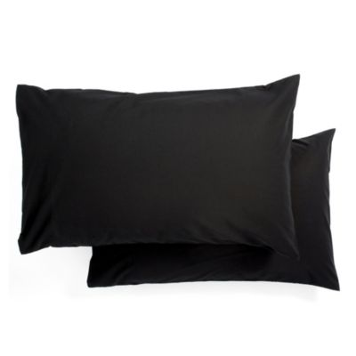 Tu Pillowcase Non-iron Black Pair - image 1