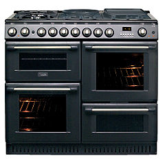 Cannon TRAD 1000 10456GF AN 100 Anthracite Dual Fuel Range Cooker