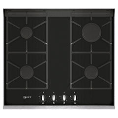 Neff T66S66N0 Gas Hob Black