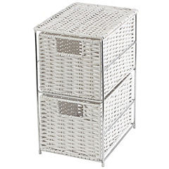 Tu 2-drawer Storage Unit White