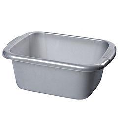 Silver Rectangular Bowl