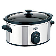 Breville VTP066 3.5L Slow Cooker Stainless Steel