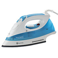 Russell Hobbs Steamglide Iron Blue and White
