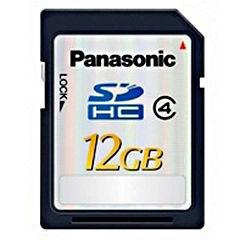 Panasonic RP-SDP12GE1K 12GB Class 4 SDHC Memory