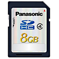 Panasonic RP-SDP08GE1K 8GB Class 4 SDHC Memory