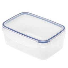 Sainsbury's Klip Lock 900ml Rectangular Storage Box
