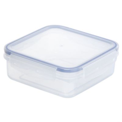 Sainsbury's Rectangular Klip Lock Container 700ml - image 1