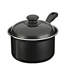 Sainsbury's Basics 18cm Saucepan with Lid