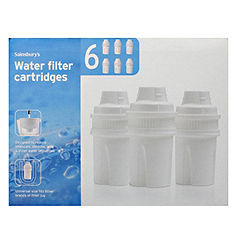 Sainsbury's 6-pack Water Filter Cartridges