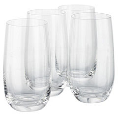 Home Collection 4-pack Crystal Glass Hiball Glasses