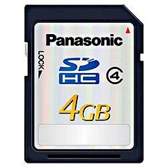 Panasonic RP-SDP04GE1K 4GB Class 4 SDHC Memory