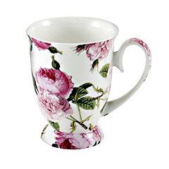 Tu Pink Rose Fine China Mug