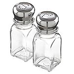 Sainsbury's Basics Glass Salt & Pepper Set