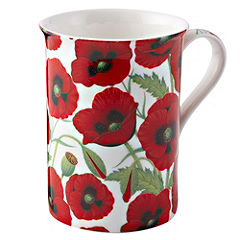 Tu Poppies Fine China Mug