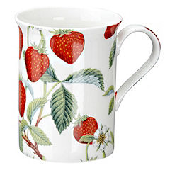 Tu Strawberry Bone China Mug