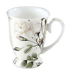Tu Cream Rose Fine China Mug