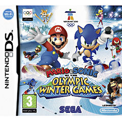 and Sonic at the Olympic Winter Games for