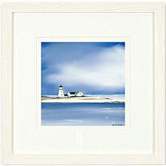 Lighthouse Framed Print 55x55cm