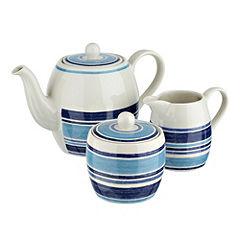 Johnson Brothers Blue Stripe 3-piece Set