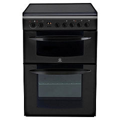 Indesit KD6C35A Electric Cooker Black