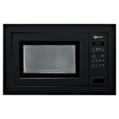 Neff H56W20S0GB Microwave Oven Black