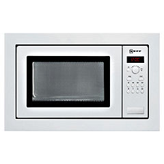 Neff H56W20W0GB Microwave Oven White