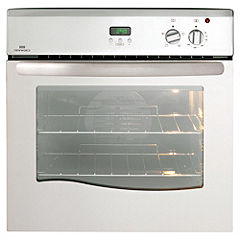 New World 60FP 60CM Electric Single Oven Satin Steel