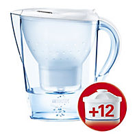 BRITA Marella Cool White Annual Pack