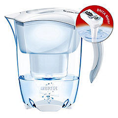 Brita Elemaris Meter Cool White Water Filter Jug