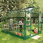 Eden Greenhouse with Safety Glass and Base 8x10ft