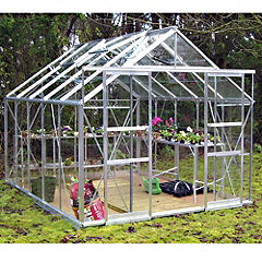 Eden Greenhouse with Horticultural Glass and Base 8x10