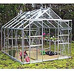 Eden Greenhouse with Horticultural Glass and Base 8x10ft